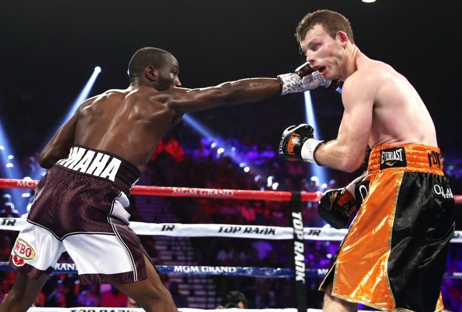 Crawford stops Horn to seize WBO welterweight world title