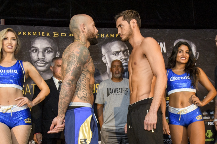 Collazo vs Perrella Weigh In_08_04_2018_Weigh-in_Douglas DeFelice _ Premier Boxing Champions2