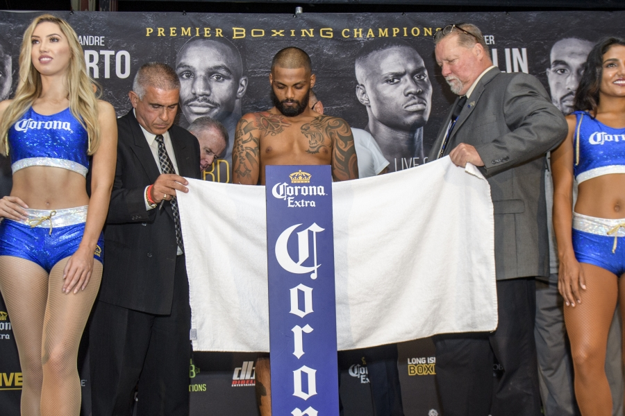 Spencer vs Lutchmedial Weigh In_08_04_2018_Weigh-in_Douglas DeFelice _ Premier Boxing Champions