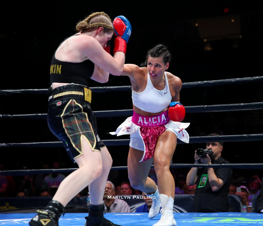 Alicia Napoleon Vs. Hannah Rankin Fight Night