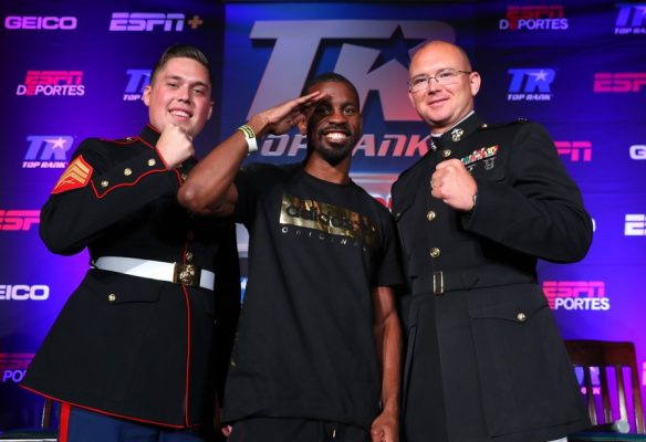Despite being severely shorted by the oddsmakers, so shorted that the betting line was soon taken down afteropening as a +1000 underdog, the retired Marine is confident in himself and the team around him.