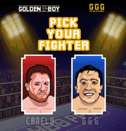 Canelo GGG 8 bit game