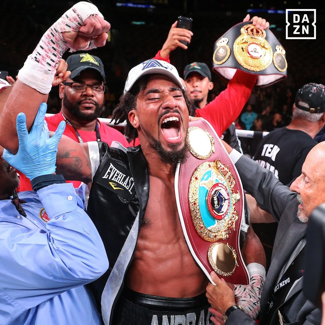 Sponsor Matchroom Boxing Usa: Andrade Defends World Crown Against Akavov In NY