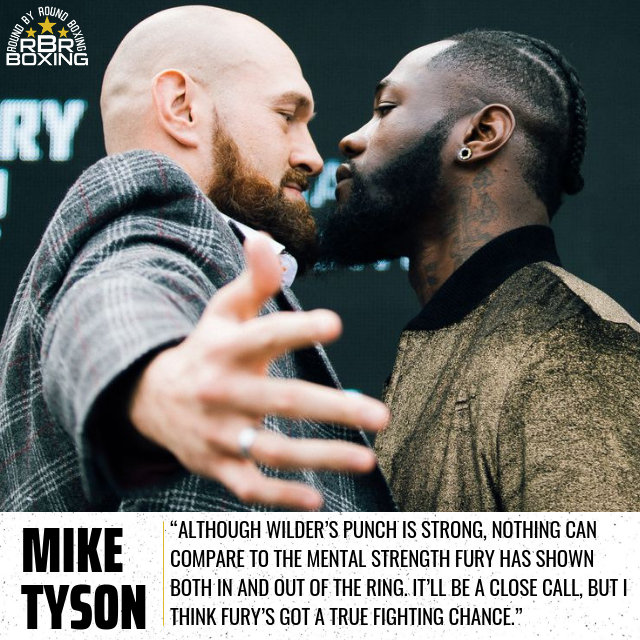 Mike Tyson Gives Wilder Vs. Fury Prediction