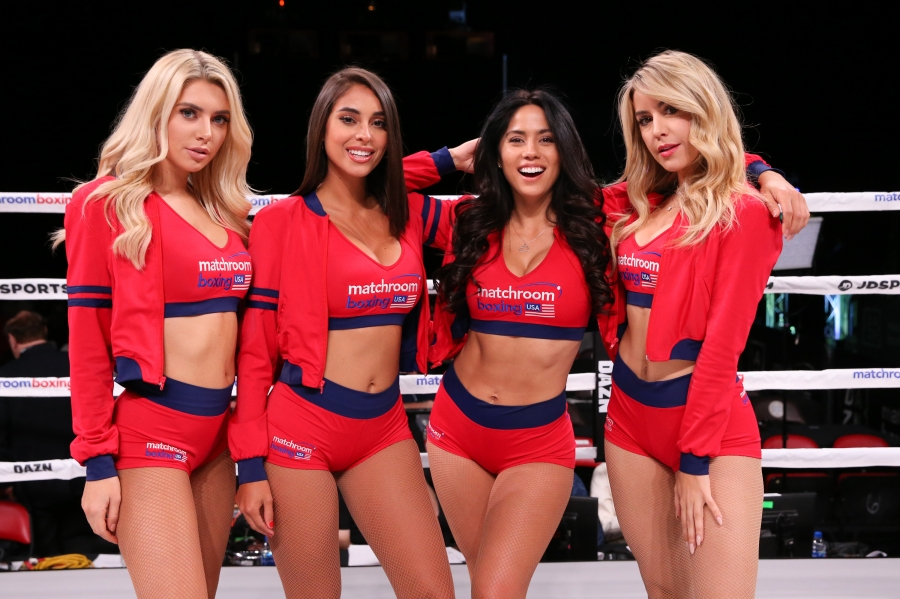 Photos | Matchroom Boxing Ring Girls (11/17/18) | Round By