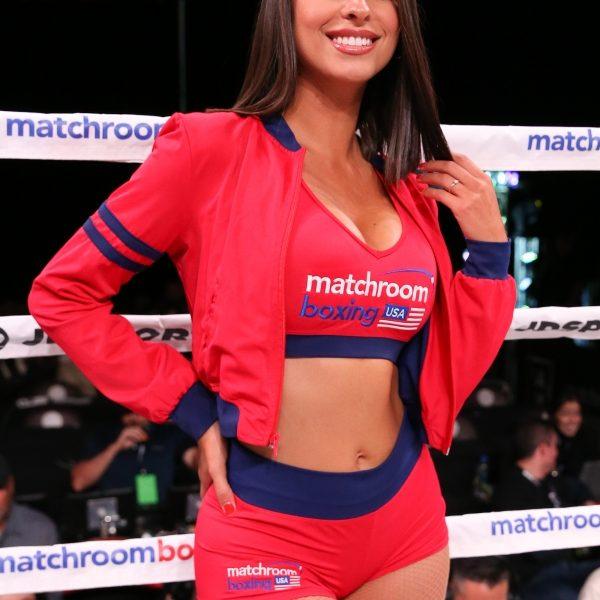 Sponsor Matchroom Boxing Usa: Matchroom Boxing Ring Girls (11/17/18)