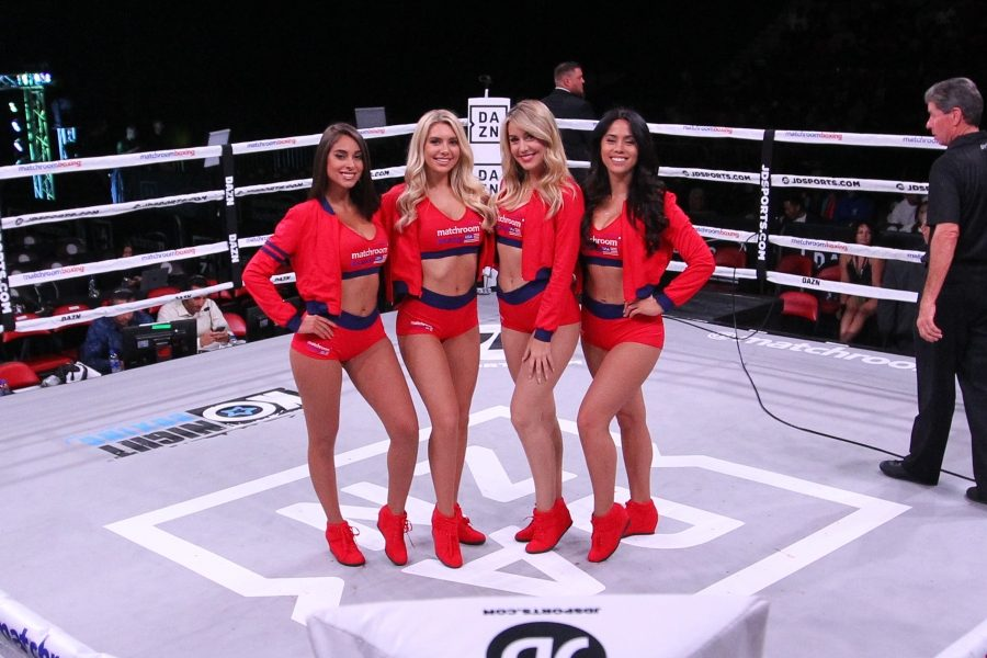 Photos | Matchroom Boxing Ring Girls (11/17/18) | Round By Round Boxing