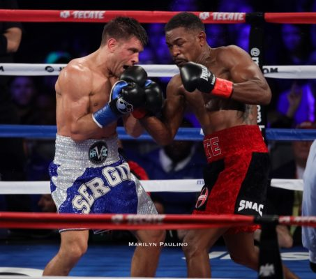 According to Hans Themistode, Daniel Jacobs is the much bigger man and the better boxer. He should stand his ground and not use as much movement. Outbox Canelo in the center of the ring.