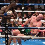 Wilder vs. Fury Knockdown