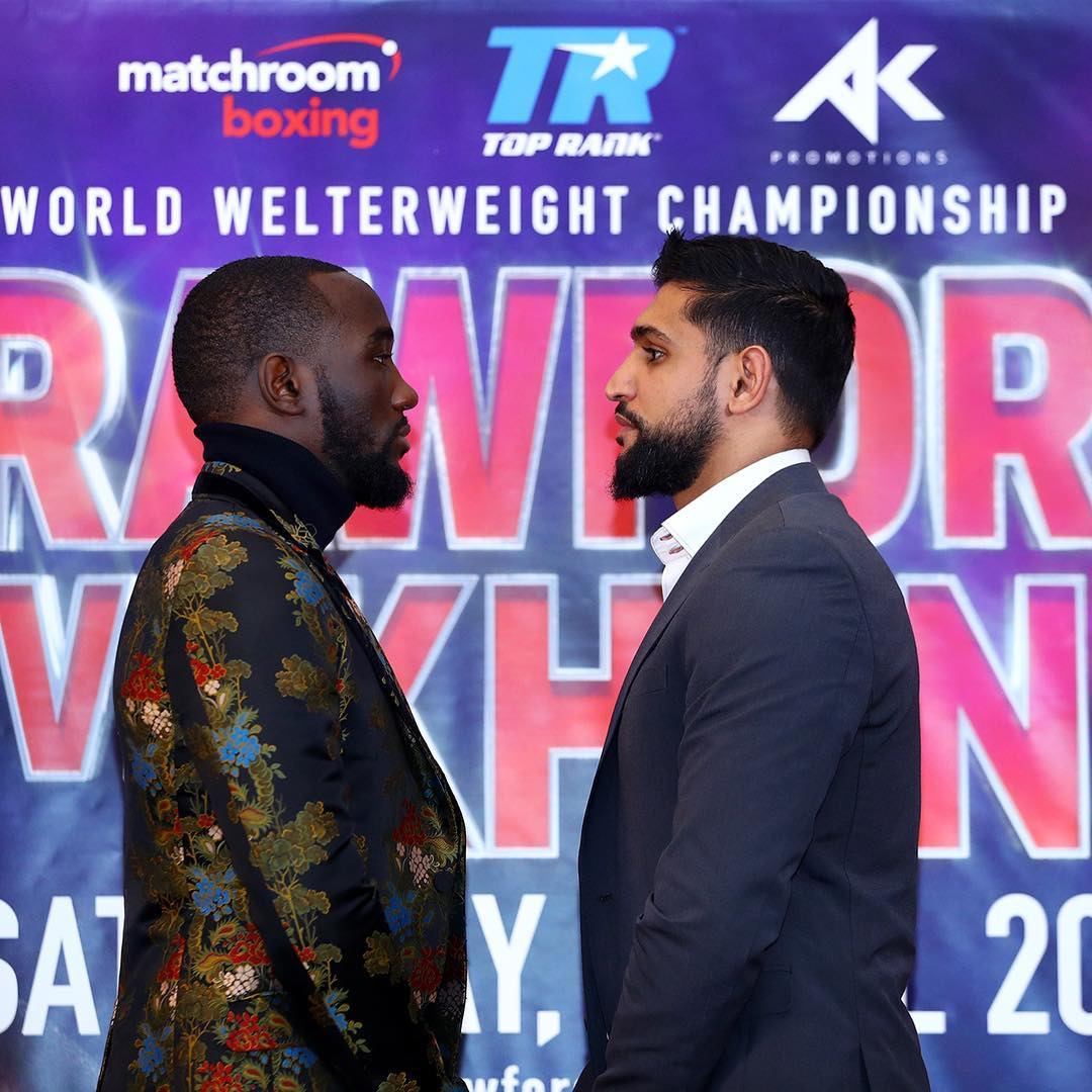 How do you see Terence Crawford vs. Amir Khan playing out?