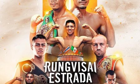 Rungvisai-Estrada II will be shown live on the DAZN app this upcoming Friday at 9:00 pm, ET.