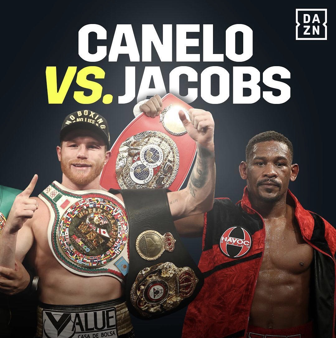 Canelo Vs. Jacobs: T-Mobile Arena To Host May 4