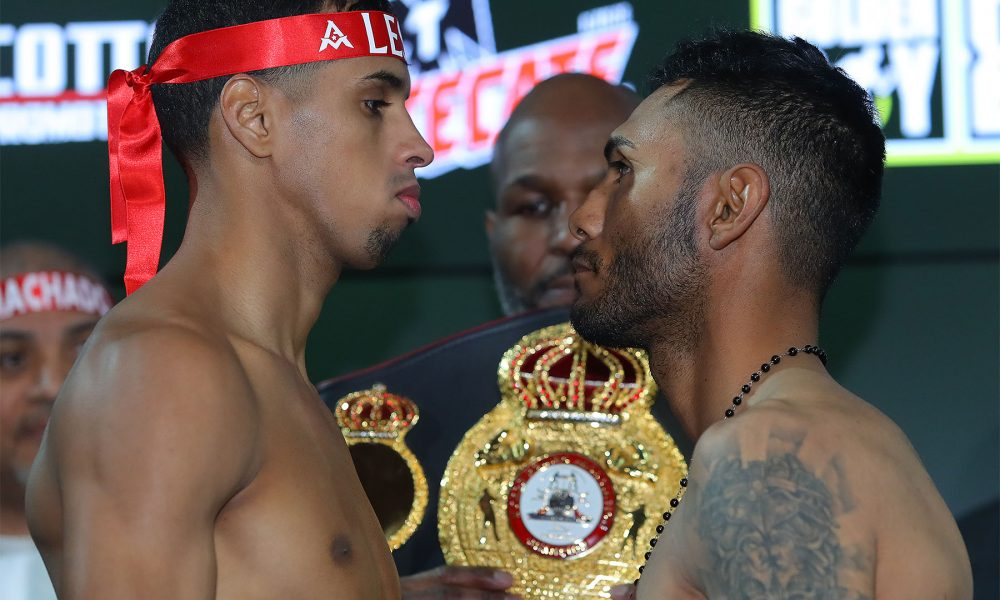 The highly-anticipated rematch between Andrew Cancio and Alberto Machado will take place on June 21, 2019 from the Fantasy Springs Resort Casino and stream live on DAZN.