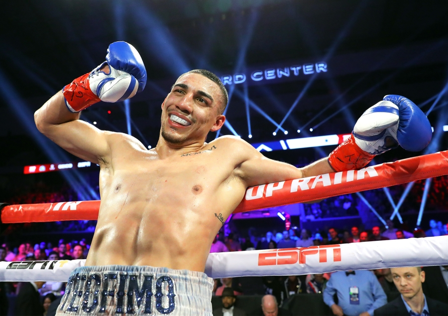 "Fellow Top Rank fighter Teofimo Lopez joined Vasiliy Lomachenko in the ring after the fight to hype up a matchup between the two. But, Lomachenko does not seem interested. ""Teofimo Lopez is nothing in boxing right now,"" said Lomachenko."