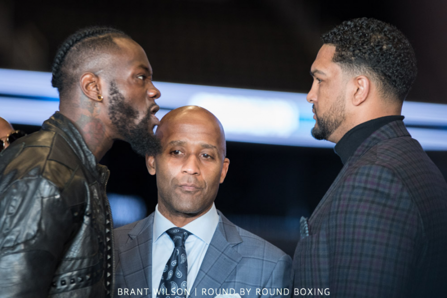 Anthony Joshua vs Deontay Wilder? Undisputed title fight handed fresh hope