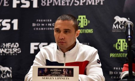 "Sergey Lipinets: ""We Never Missed a Beat in Preparation, Even With Opponent Change"""