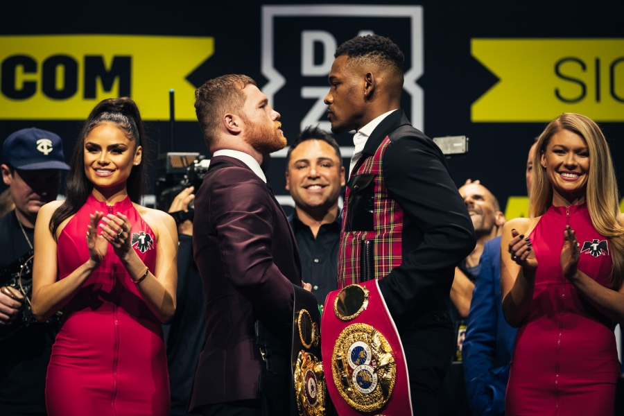 "The second installment of the resurrected head-to-head series is back, this time focusing on the upcoming superfight between Saul ""Canelo"" Alvarez (51-1-2, 35 KOs) and Daniel ""Miracle Man"" Jacobs (35-2, 29 KOs)."
