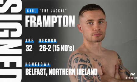 Carl Frampton Top Rank