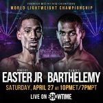 Robert Easter Jr. vs . Rances Barthelemy