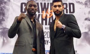 On Saturday, April 20, Terence Crawford battles Amir Khan on ESPN PPV from Madison Square Garden in New York City.
