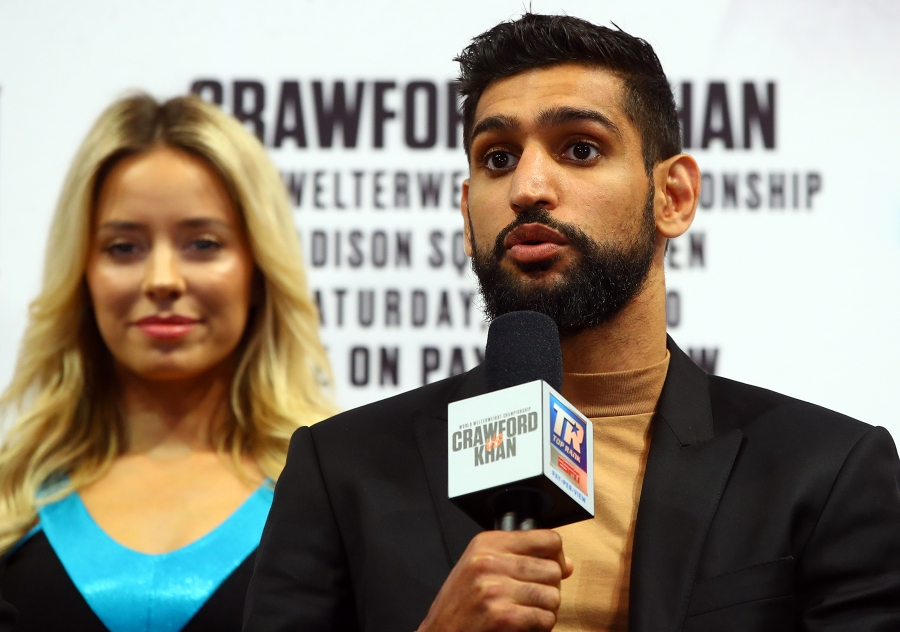 Although it is likely that Amir Khan represents Terence Crawford's toughest test to date, what's always drawn concern about the England native is his defense and questionable chin.