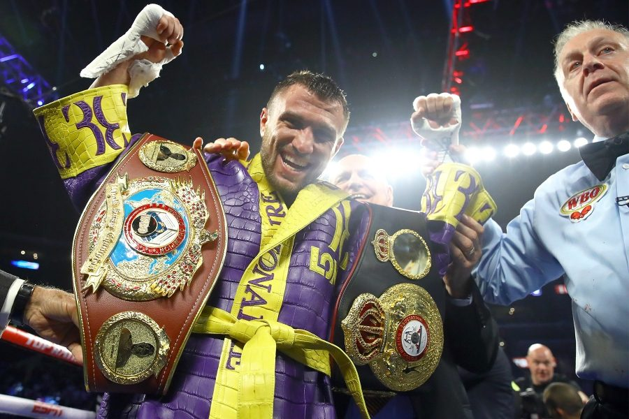 Who do you want to see Vasiliy Lomachenko face next?