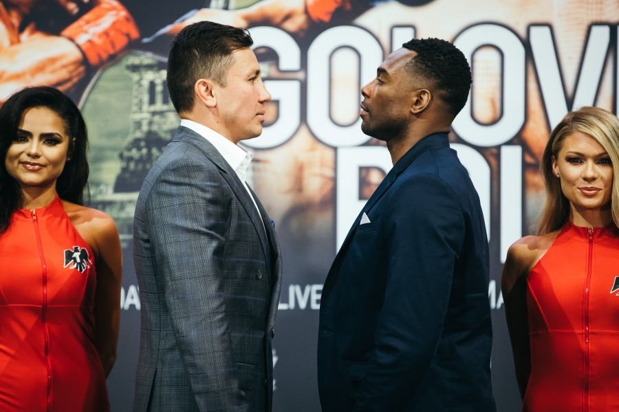 0420c0f3c74269 Golovkin vs. Rolls  New York City Press Conference