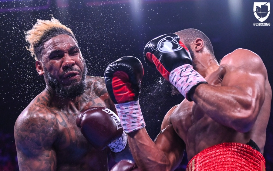 Jarrett Hurd vs  Julian Williams Fight Night Results | Round By