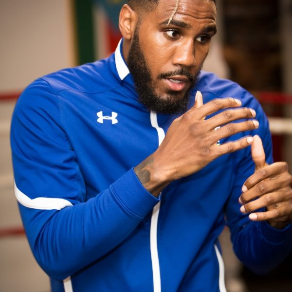 Unified 154-Pound Champion Jarrett Hurd Media Workout
