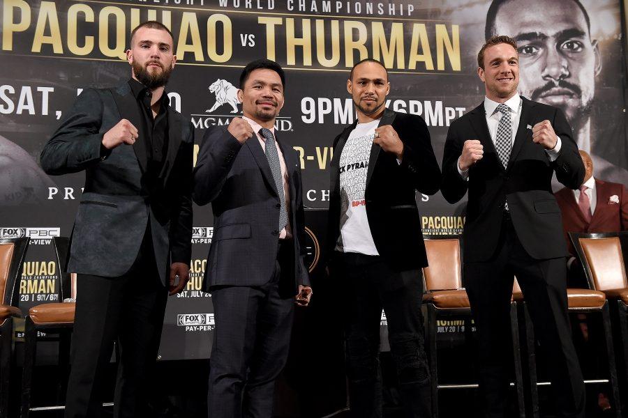 Pacquiao vs. Thurman & Plant vs. Lee