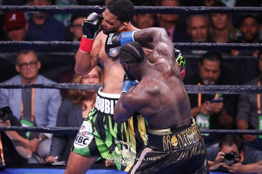 After a rematch between Deontay Wilder and Tyson Fury stalled, Wilder successfully defended his title, walking through Dominic Breazeale with a thunderous first-round knockout victory.