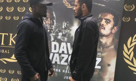 Ohara Davies vs. Miguel Vazquez