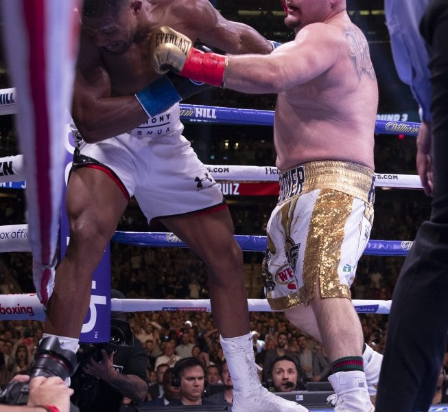 Anthony Joshua Vs. Andy Ruiz Fight Night