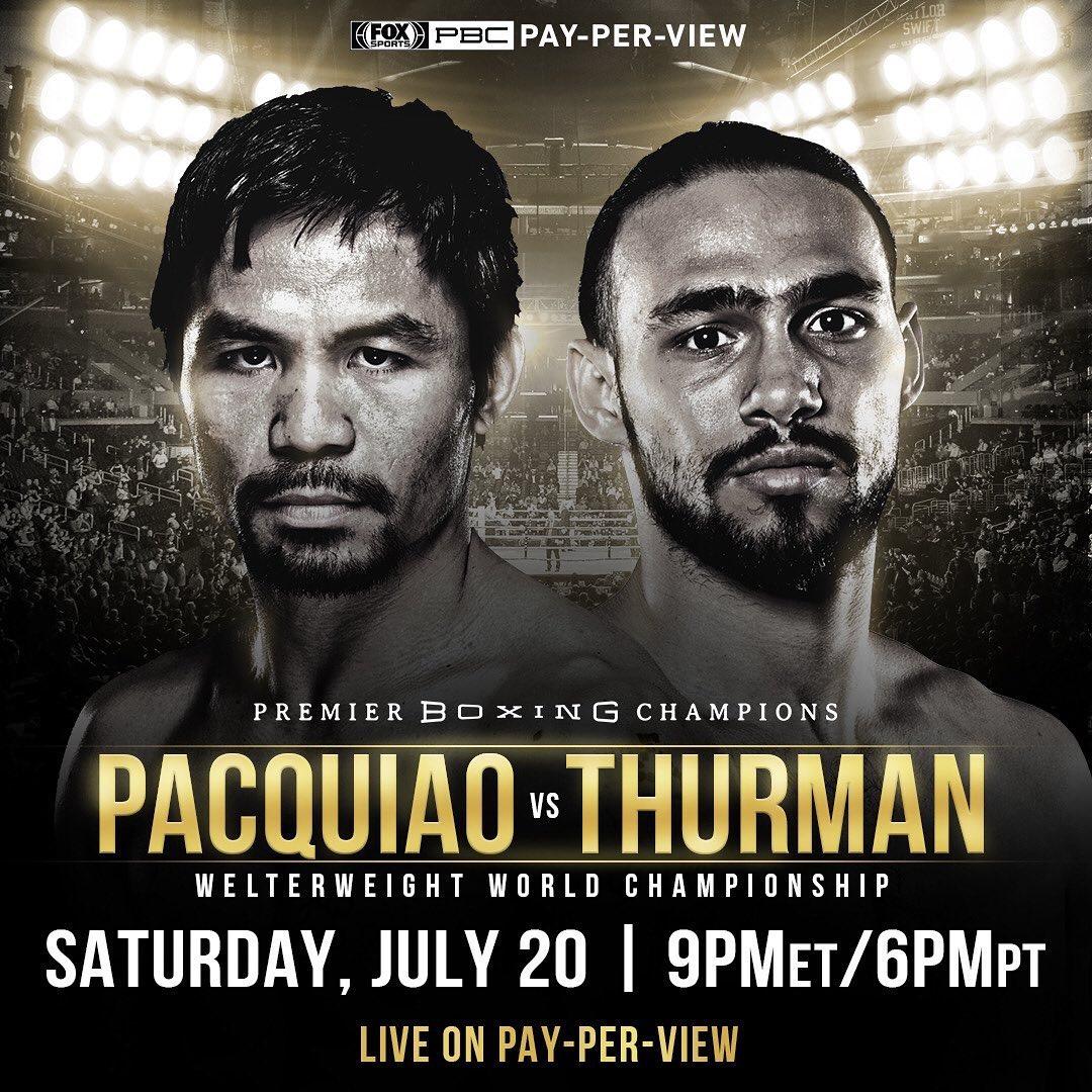 Pac-Thurman Undercard