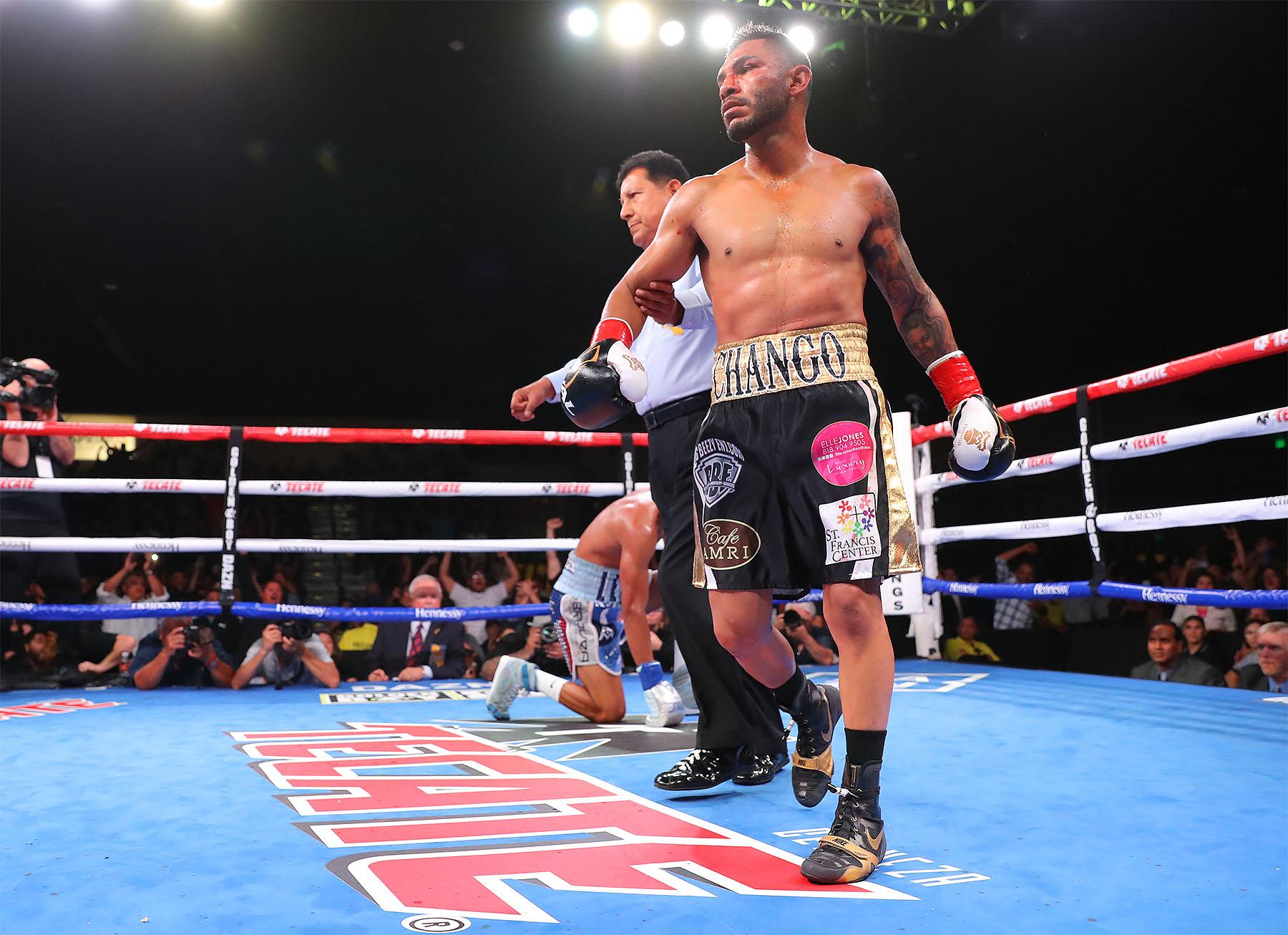 Cancio Stops Machado in Rematch