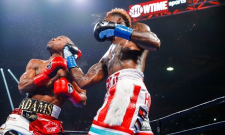 Charlo defeats Adams