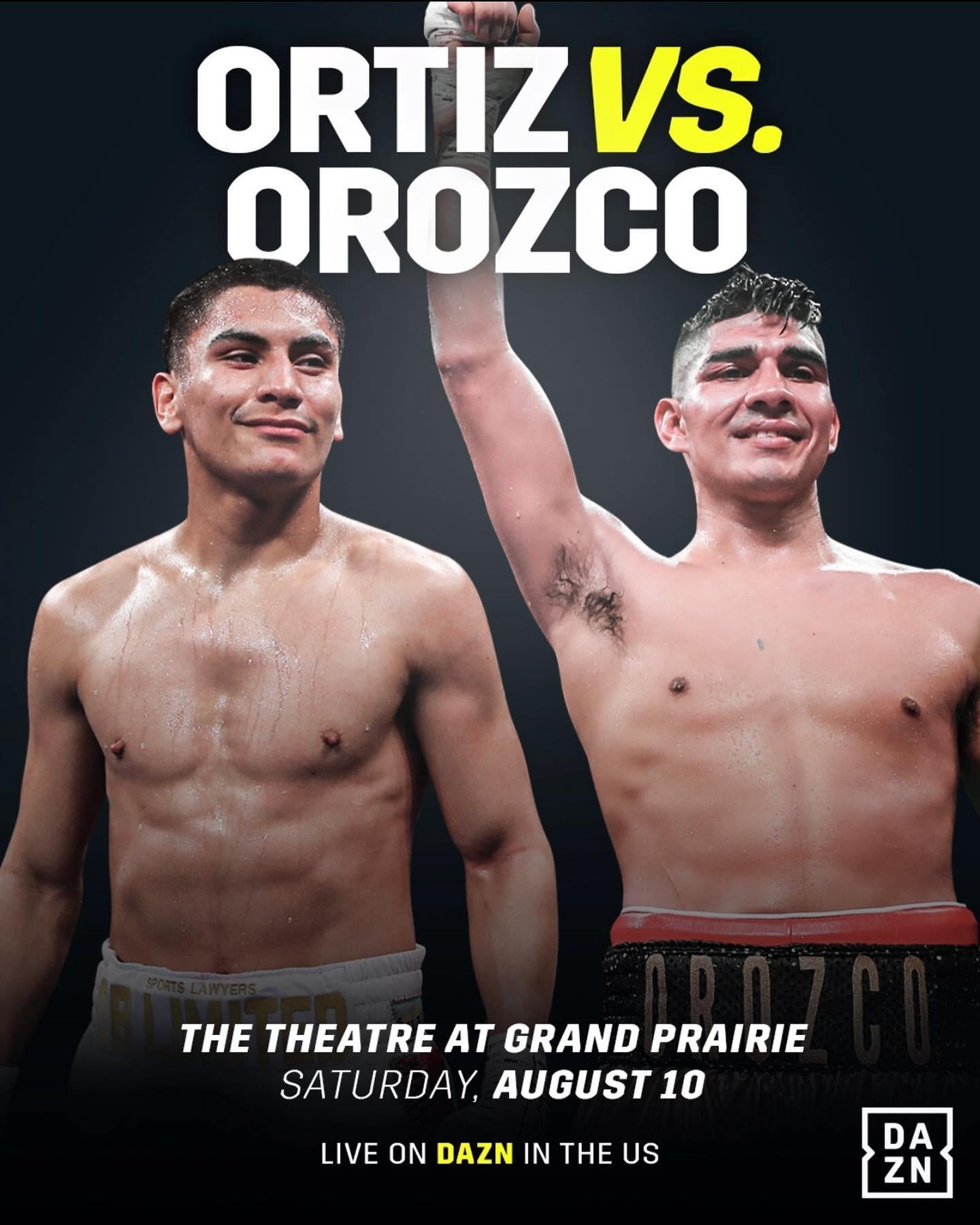 Vergil Ortiz vs. Antonio Orozco