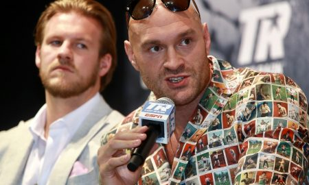 Tyson Fury on Anthony Joshua