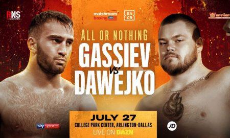 Murat Gassiev vs. Joey Dawejko
