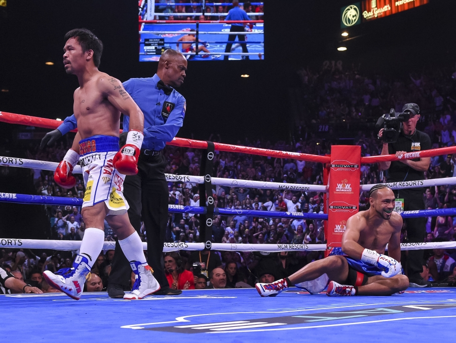 Pacquiao Knocksdown Thurman