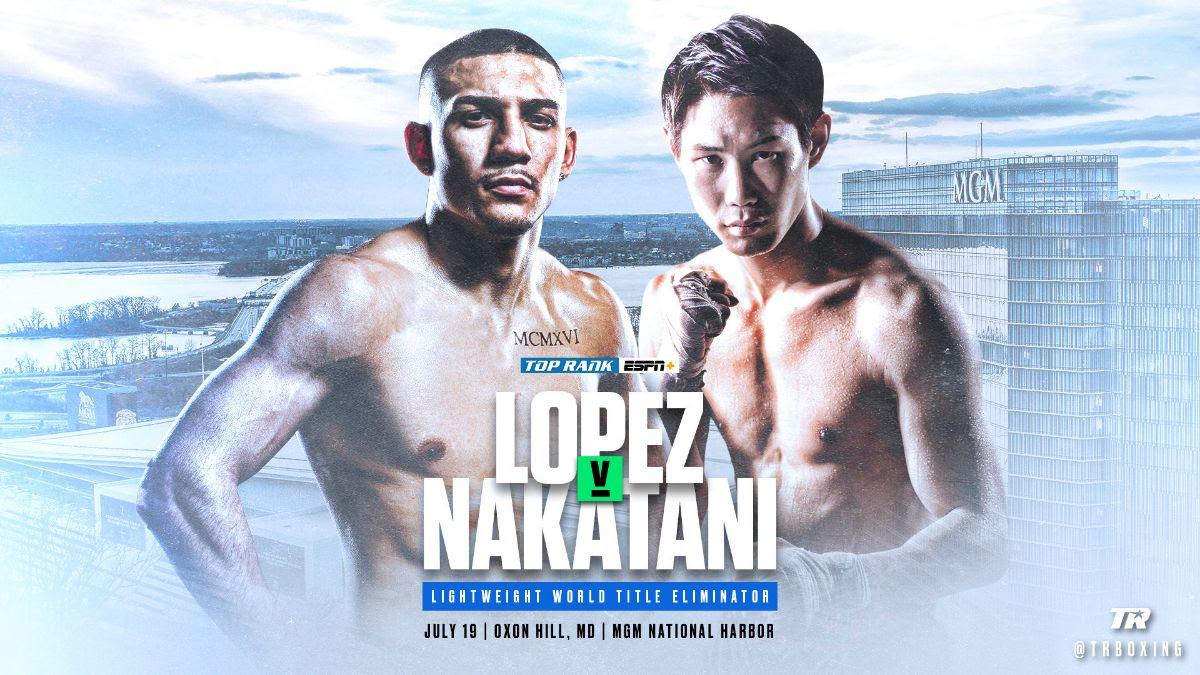Lopez vs. Nakatani Results