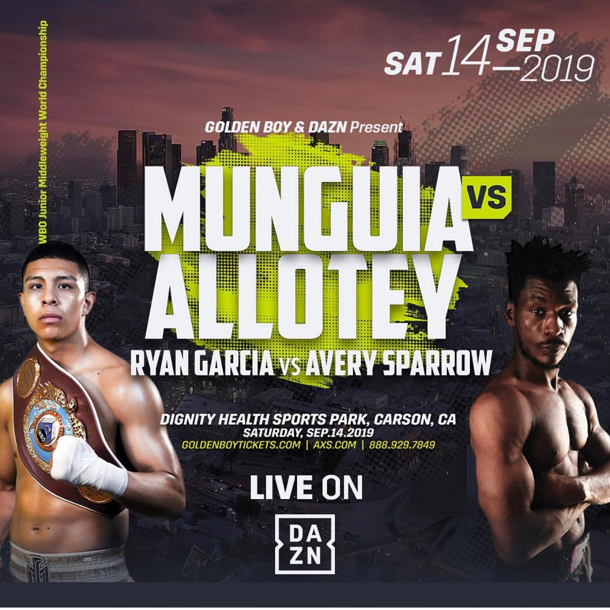 Munguia vs. Allotey
