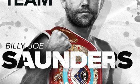 Billy Joe Saunders Matchroom Boxing
