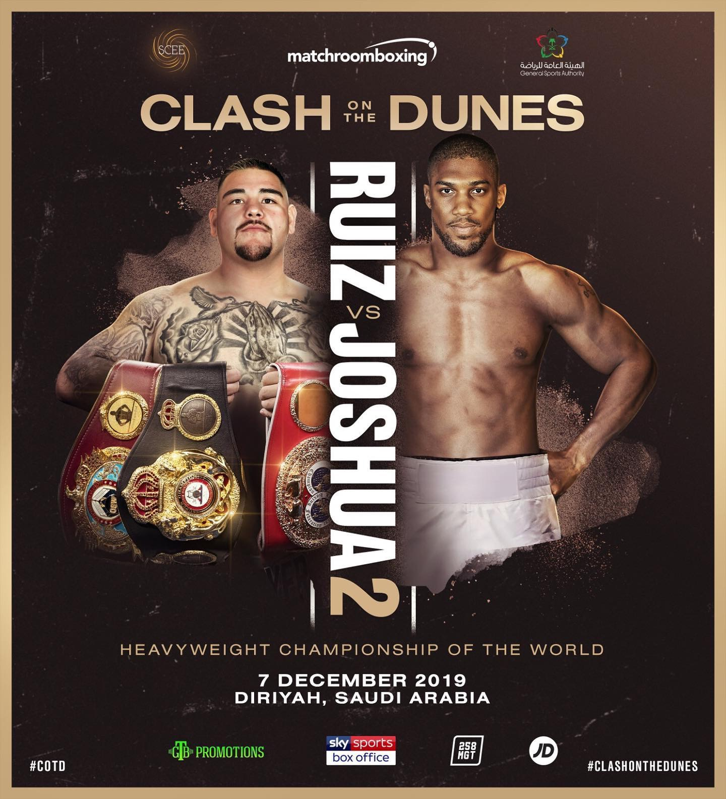 Ruiz Jnr. rejects offer for Joshua rematch