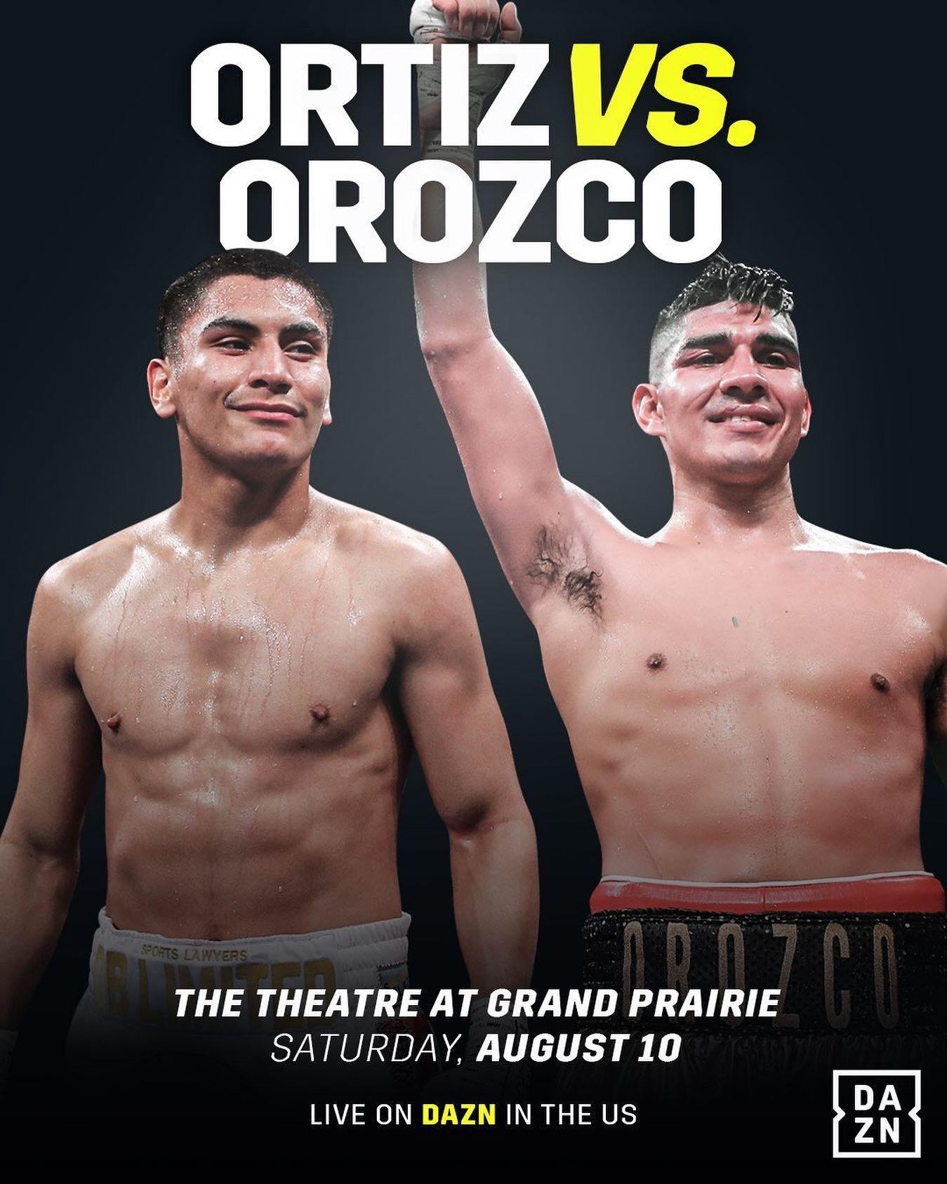 Ortiz vs. Orozco Fight Results