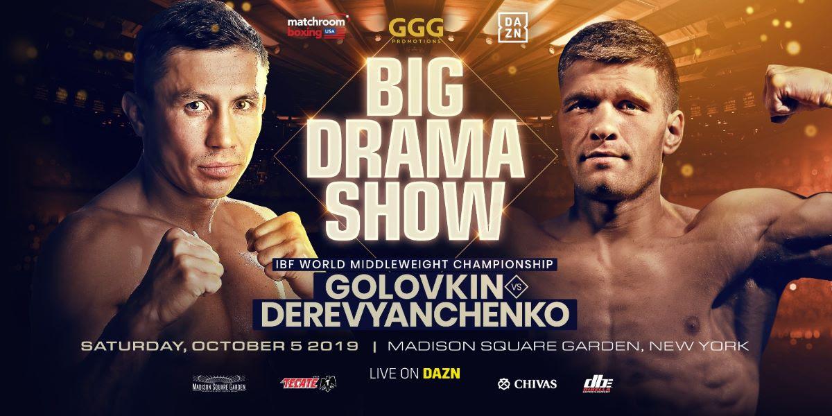 Gennadiy Golovkin vs. Sergei Derevyanchenko