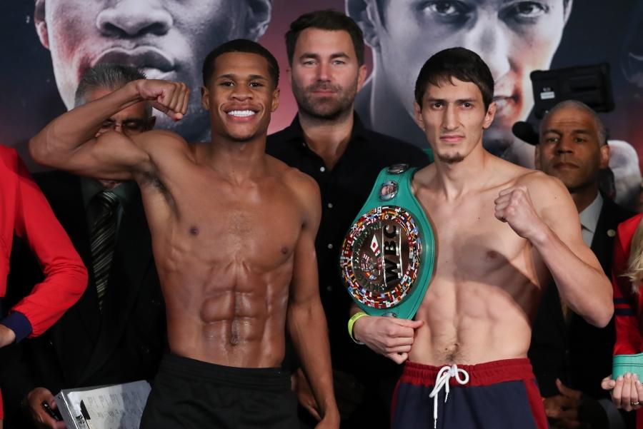 Haney vs. Abdullaev Fight Results