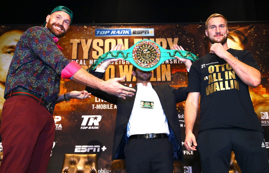 Tyson Fury vs. Otto Wallin Mayan Belt