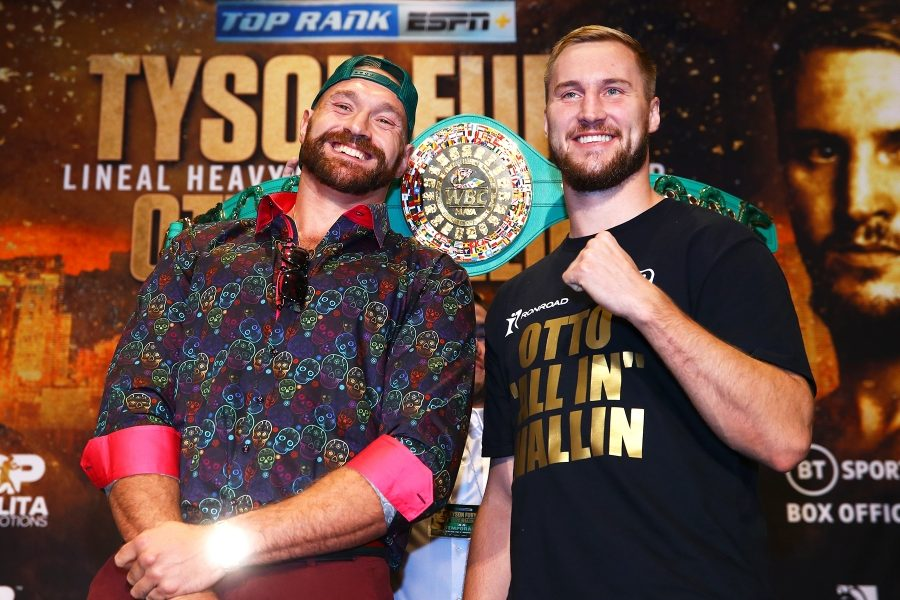 Tyson Fury vs. Otto Wallin