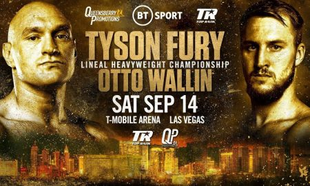Fury vs. Wallin Results